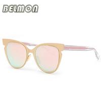 2016 Fashion Sunglasses Women Brand Designer Sun Glasses Ladies Butterfly High Quality UV400 Colorful-Lens Female Oculos RS062
