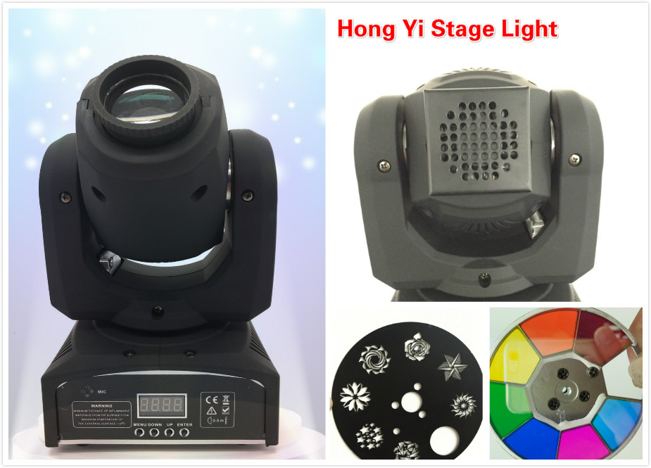 2016 Hot Factory direct sale 30W mini Moving Head Light Mini Party Dj Disco Club Sopt light for Home Garden Party Wedding Effect(China (Mainland))