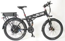 Latest Foldable Ebike 48V 500W Egine Strong Frame + Electric Bicycle 48V 11Ah Li-ion Battery Rear Carrier With 2A Charger(China (Mainland))