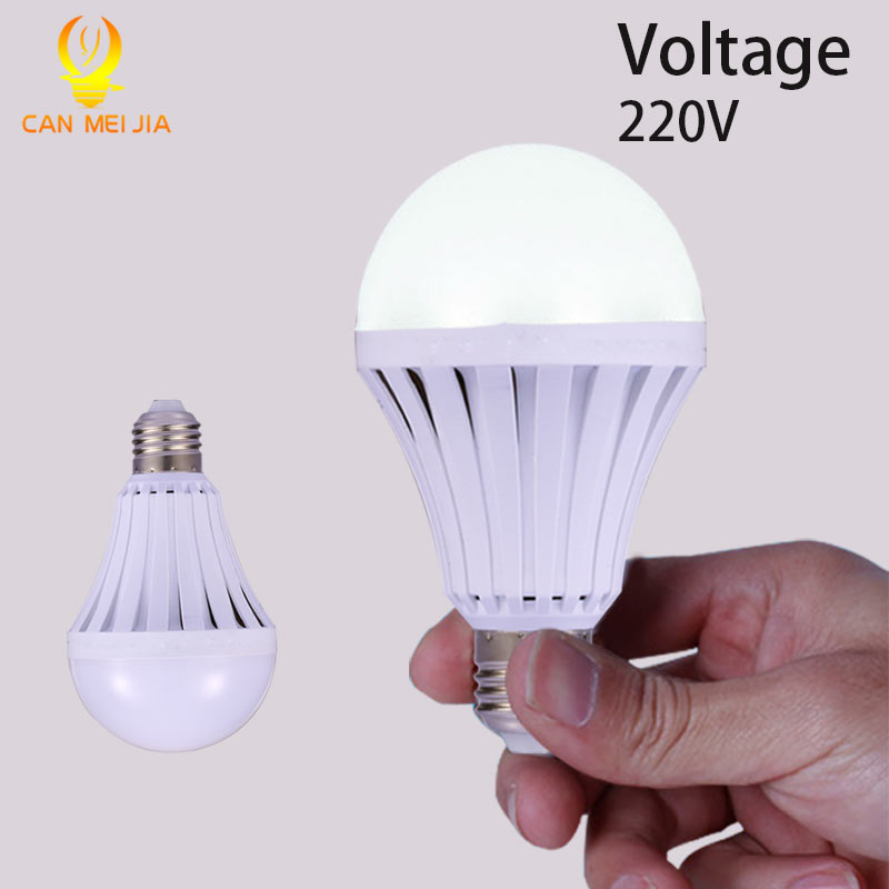 LED Smart Bulb E27 220V 5W 7W 9W 12W Led Emergency Light Rechargeable Battery Lights Lamp Outdoor LEDs Bombillas Flashlight(China (Mainland))