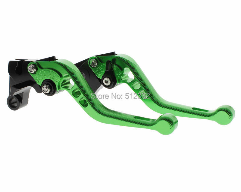 hot sale Green motorcicle 3D CNC Short Brake Clutch Levers For KTM 1190 Adventure/R 2013-2016 Super Adventure 1290 2015-2016(China (Mainland))