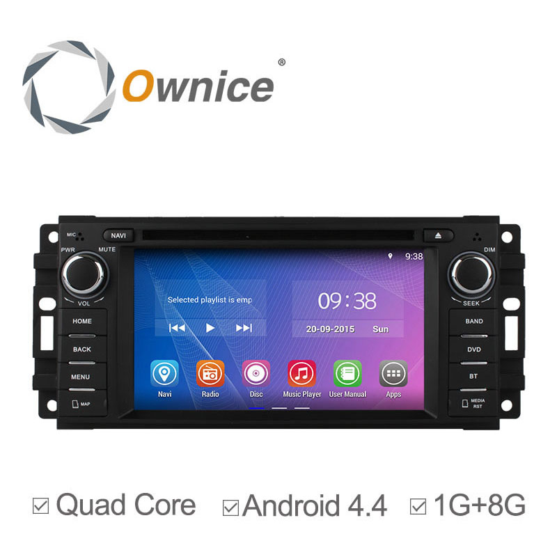 Android 4.4 Quad core Car DVD player For Chrysler Sebring 300C Cirrus/Jeep Compass Grand Cherokee Wrangler with wifi BT Radio(China (Mainland))