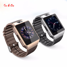 Buy New Arrival Smart Watch dz09 Camera Bluetooth WristWatch SIM Card Smartwatch Ios Android Phones Support Multi languages for $13.59 in AliExpress store