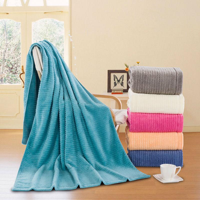 90*180cm Cotton Bath Towel Beach Towel Spa Salon Wraps