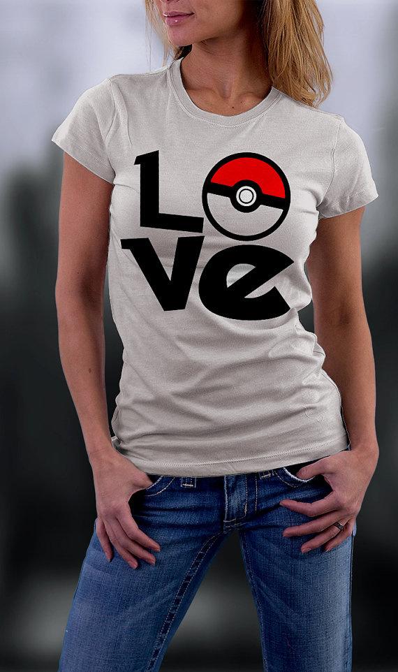 font b Pokemon b font font b Go b font Fashion New Design T Shirt