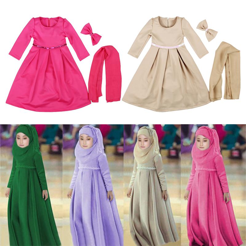 Мусульманские Платья Для Девушек