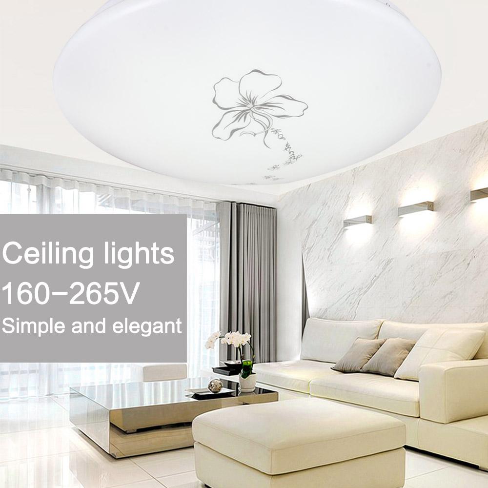 lights home flush mount ceiling lamps fixture lustre living room