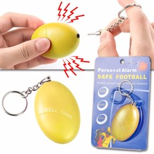 Portable Keyring Defense Personal Alarm Girl Women Anti-Attack Security Protect Alert Personal Safety Scream Loud Keychain Alarm