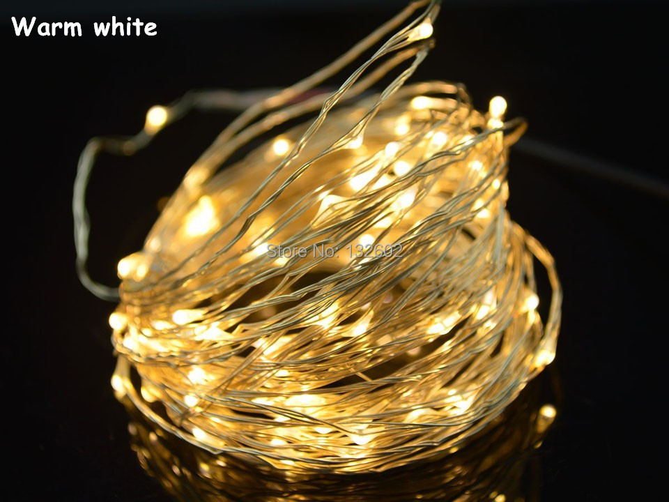 Starlight Led String Lights 10 Copper Wire : 8Colors 10M Silver / Copper Wire LED String Light Fairy Lights Starry lights 100LED With UK,US ...