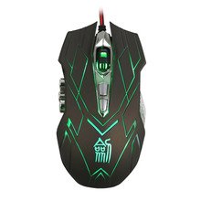 Buy Wired Mouse Computer Mouse 10D 4000DPI Optical LED Wired Mouse DotA FPS Laptop PC Free Hot Sale # 20 for $12.22 in AliExpress store