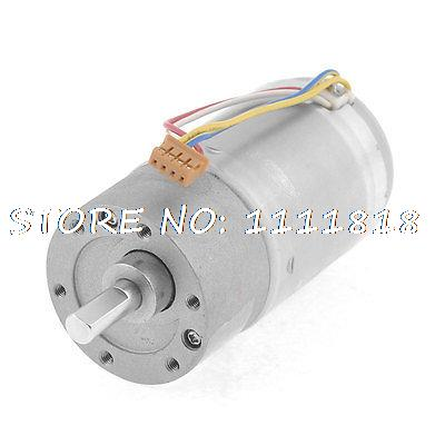 12V 200RPM Permanent Magnetism High Torque DC Gearbox Geared Motor<br><br>Aliexpress
