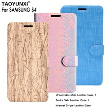 Buy Lasherweave PU Leather Cases Samsung Galaxy S4 I9500 SIV GT-I9500 Cases Dirt-Resistant Flip Phone Covers Card Holder for $2.68 in AliExpress store