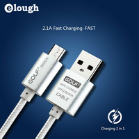 Elough 1m 2m 3m Charger Micro USB Cable For IPhone 5 5s 5C 6 6s Plus SE Samsung S7 Xiaomi Mobile Phone Adapter mini USB Cable