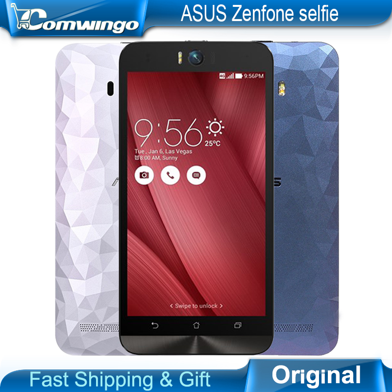 "<font><b>Asus</b></font> Zenfone Selfie 5.5"" ZD551KL 4G lte cell phone Dual 13MP camera for Qualcomm Snapdragon 615 octa core 3GB RAM <font><b>smartphones</b></font>"