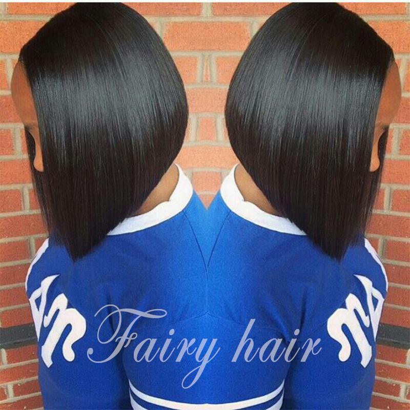 Fast Shipping Cheap Heat Resistant Hair Wigs Straight Bob Wigs Glueless Synthetic Lace Front Wigs for african american in stock <br><br>Aliexpress