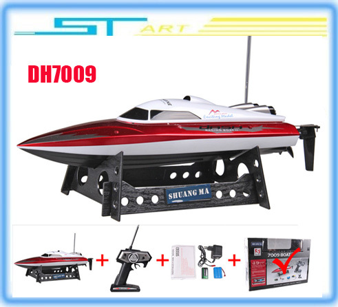 Free shipping RC Boat Double Horse DH 7009 boat  high speed racing 35CM boat  DH7009 child gift<br><br>Aliexpress