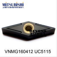 VNMG160412 UC5115.Mitsubishi CNC insesrt blade original packaging High quality high efficiency is your best choice  lathes