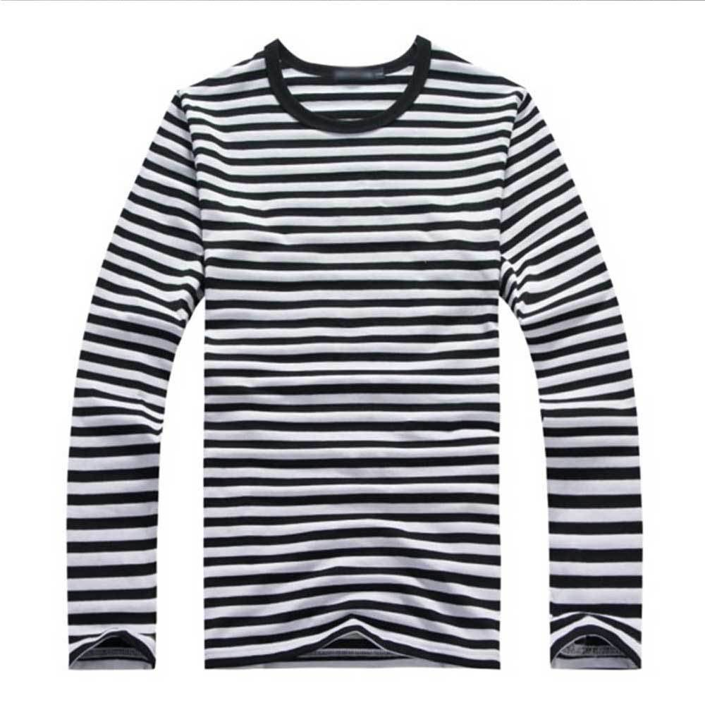 Camiseta a rayas de manga larga