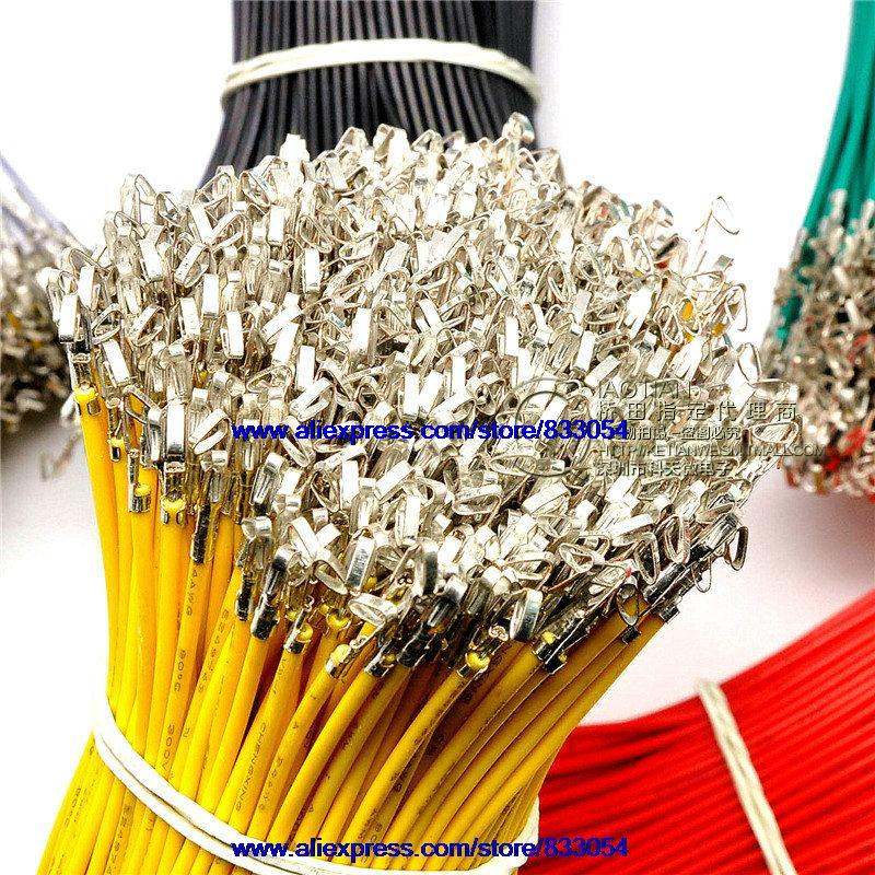 KF2510 line Single -chip electronic wire cable spring pressure head line 20CM 24AWG wire 50PCS<br><br>Aliexpress