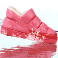 Women winter snow boots warm flat and waterproof boots for winter size 36 43 free shipping