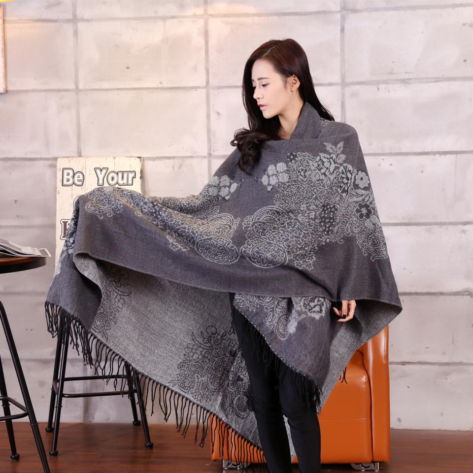 2015 New Arrival Fashion Scarf Wrap Shawl Plaid Cozy Checked Women Lady Blanket Oversized font b