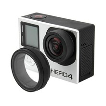 UV Action Camera Protective Accessories Lens Cover Optical Glass Lens Cover for Gopro Hero 4 3