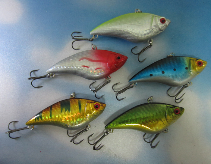 Fishing Sinking VIB Lure Vibration Rattle Hook Crankbait Baits 16g 7cm 2.75 inch Tackle - discover fun store