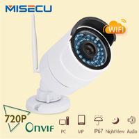 MiSecu 1280*720P 720P ONVIF2.0 audio Wireless Wifi camera IR Mini CCTV camera waterproof Video Security home surveillance CCTV