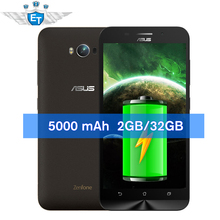 Original 5.5'' ASUS Zenfone Max Pro 5000mAh Battery 4G LTE Snapdragon MSM8916 Quad Core Smartphone Android 5.0 2GB 32GB(China (Mainland))