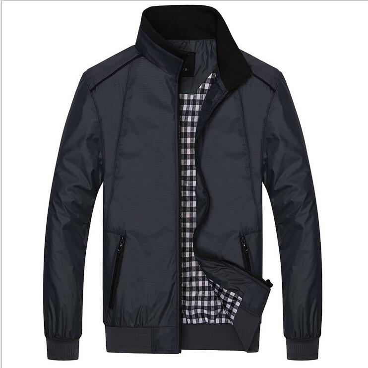 Mode Jassen Lente 2015 : Nieuwe aankomst lente mannen effen mode jasje man casual