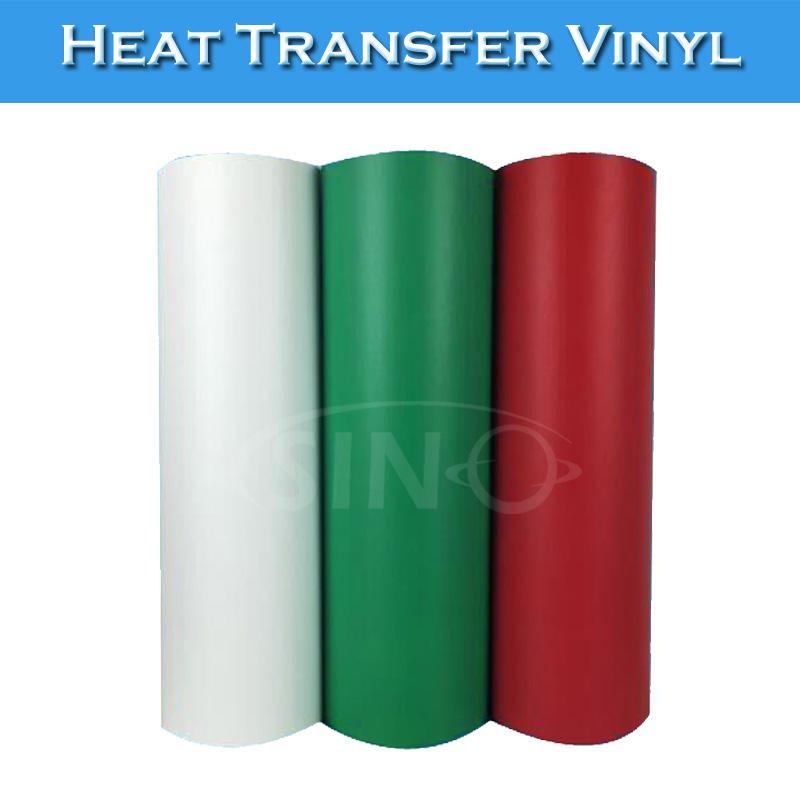 SINOVINYL Korea Flock T-shirt Vinyl Film Heat Press Cloth Heat Transfer Vinyl Rolls(China (Mainland))