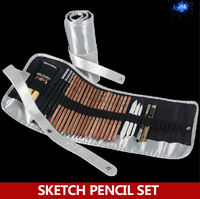 2015 New fantastic sketch drawing charcoal pencil set , sketch drawing tools for beginner