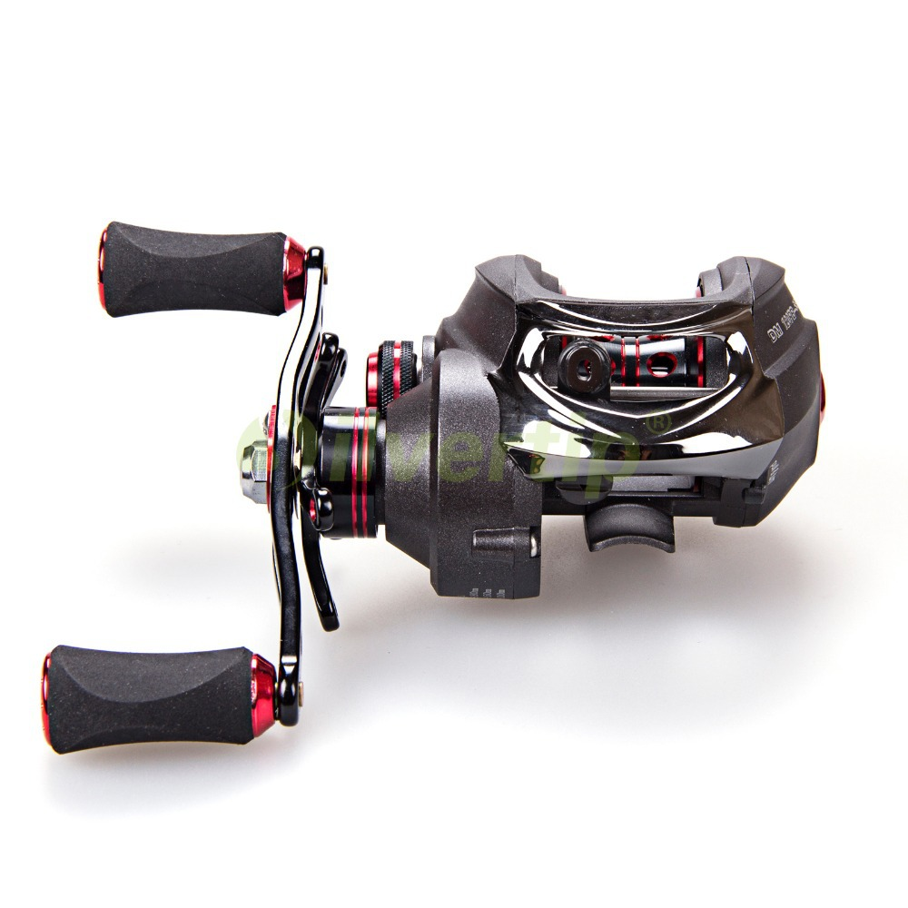 Free shipping new dmk 15 1 bb 7 0 1 baitcasting fishing for Baitcasting fishing reel