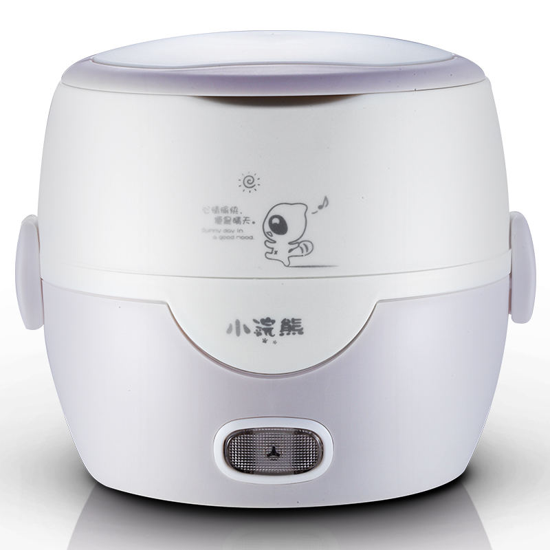200w power 1.3L capacity Double electric heating insulation stainless steel liner collar meal cooked mini kitchen appliances(China (Mainland))