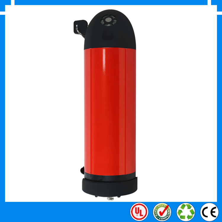 36V 11Ah Water Bottle Style Electric Bicycle Battery/Electric Bike Battery with Charger electric bike battery(China (Mainland))