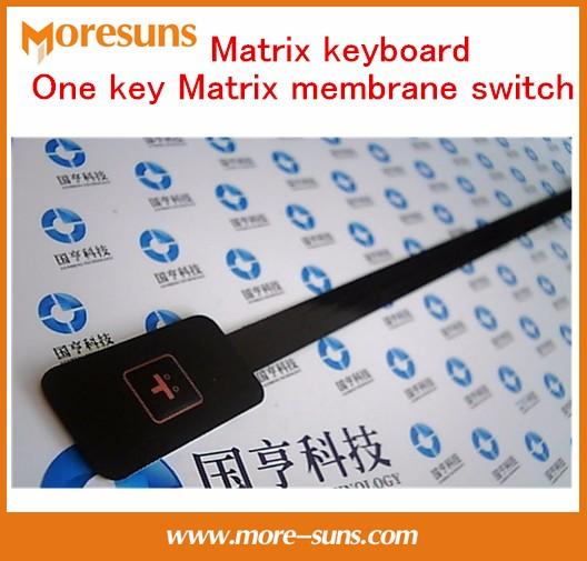 Fast Free Ship 10pcs/lot  20*35mm Matrix keyboard one key Matrix membrane switch SCM expansion keyboard/ keyboard control panel
