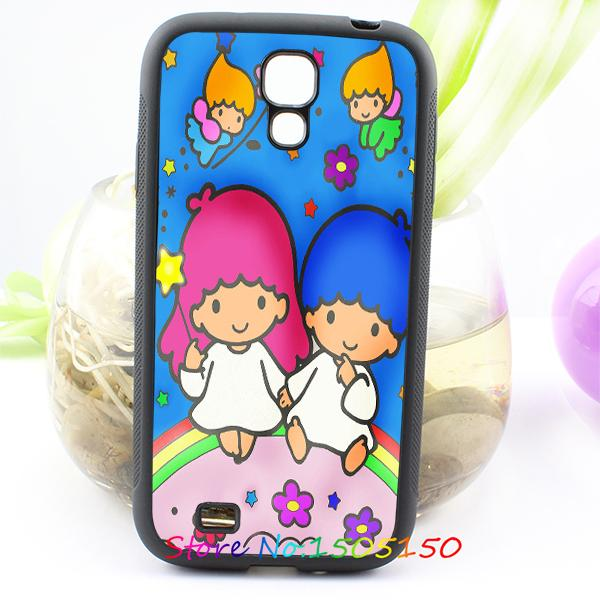little twin stars fashion cover case for samsung galaxy S3 S4 S5 S6 S7 NOTE 2 / 3 / 4 #A3084