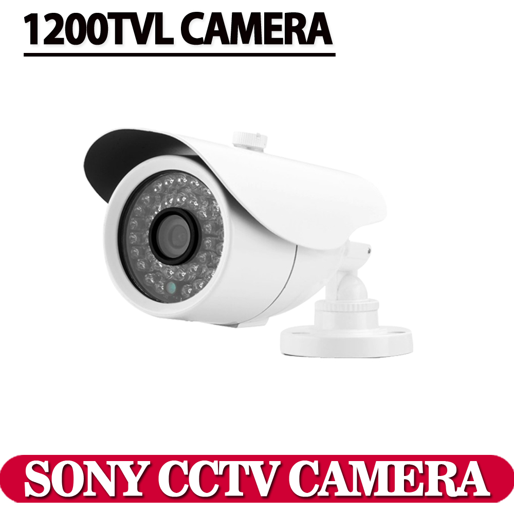 """Free shipping 2016 NEW 1/3"""" SONY CCD HD 1200TVL Waterproof Outdoor security camera IR 100 meter CCTV Camera System(China (Mainland))"""