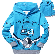 Free shipping cartoon Kids children boys Sweater Clothes for spring autumn warm boys  sweatshirts clothing(China (Mainland))