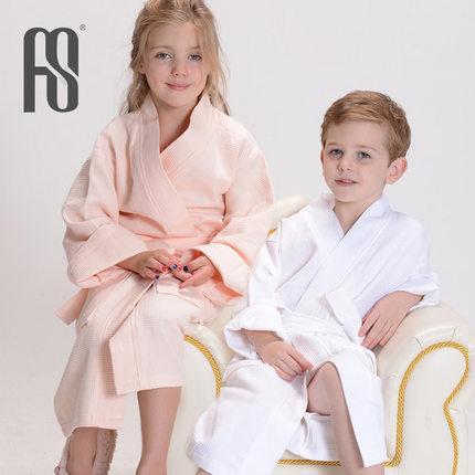 Baby robe children's bathrobe Private cotton cotton beach bathrobe(China (Mainland))