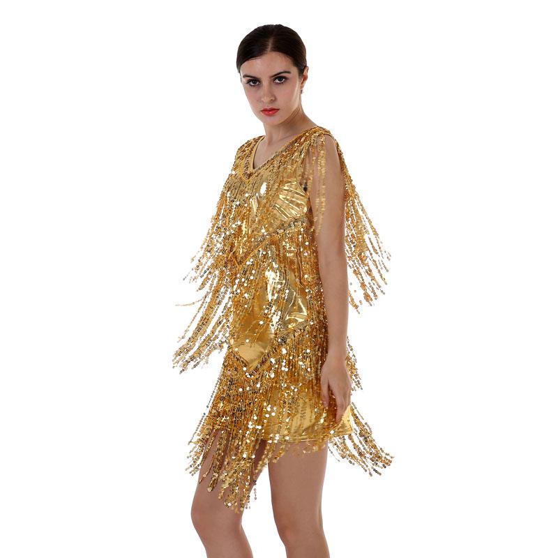 gold glitter kleid kaufen billiggold glitter kleid partien. Black Bedroom Furniture Sets. Home Design Ideas