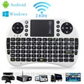 Russian Spanish Arabic English Multi touch i8 Mini Keyboard 2 4G Wireless Gaming Air Fly Mouse