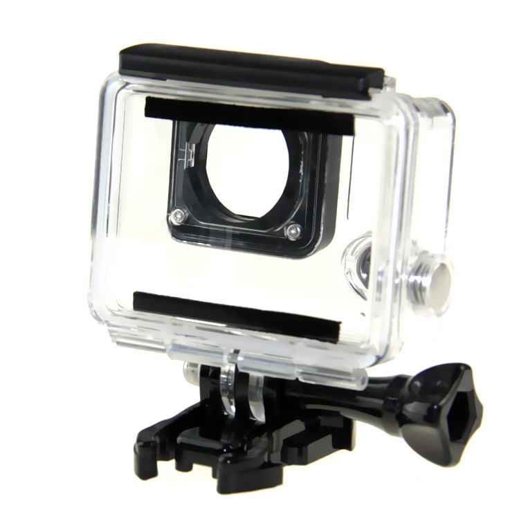 store product Hot M Gopro Waterproof Housing Case Diving Underwater Protective With Bracket for Go Pro Hero
