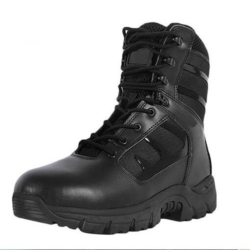 Military Tactical Boots Desert Combat Outdoor Army Hiking Travel Botas Shoes Leather Men Boots<br><br>Aliexpress