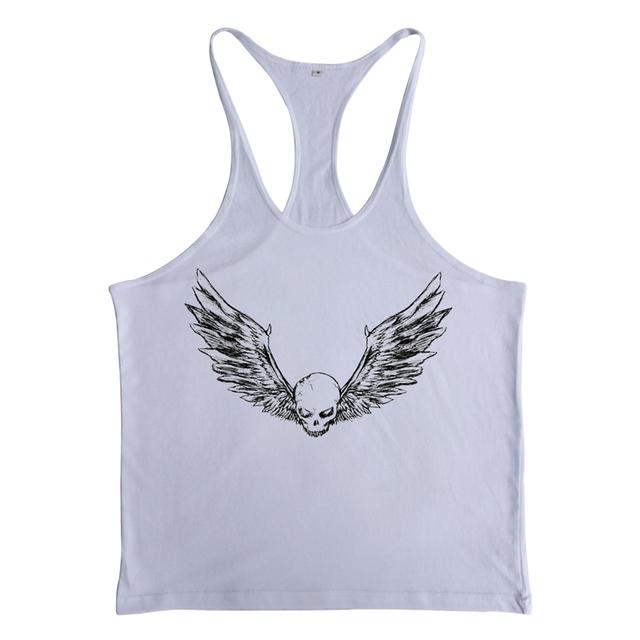 Центр марка ZYZZ ангел череп крылья фитнес фуфайки бодибилдинг спорт нижняя одежда ...