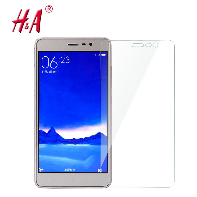 2.5D 0.28mm 9H Premium Tempered Glass for Xiaomi Redmi 2 3  Note 2 3 Mi3 Mi4 Mi5 Phone Screen Protector Film