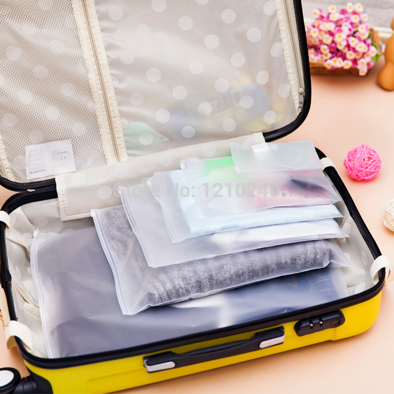 New Storage Bag Clothes Socks Underwear Packaging Bag Sealed Pouch Sorting Travel Category Loaded(China (Mainland))
