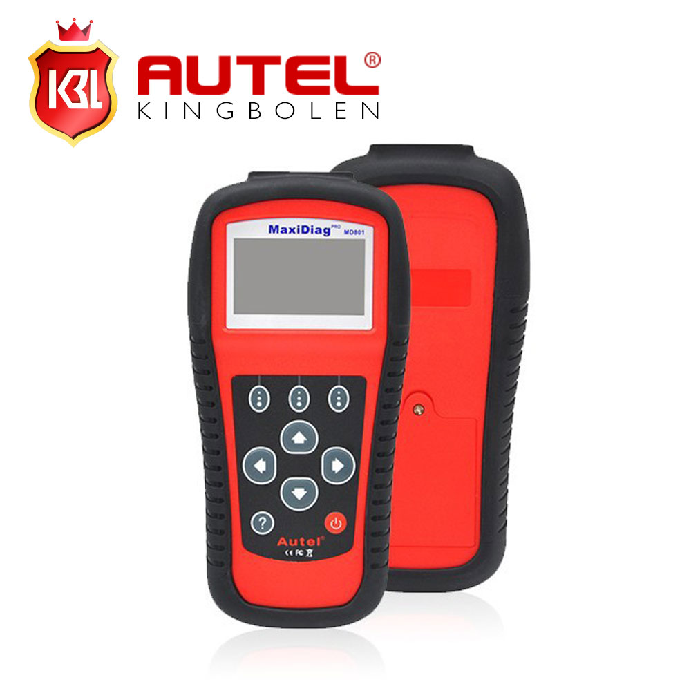 2016 100% ORIGINAL Autel MD801 pro maxidiag 4 in 1 scan tool MD 801 (JP701 + EU702 + US703 + FR704) in stock(China (Mainland))