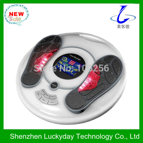 2014 latest electric reflexology foot massage instrument with heating (CE&Rohs) for free shipping(China (Mainland))