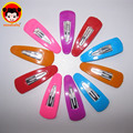 Colorful Baby Hair Accessories Girls Hair Clips BB Clips Snap Band Hairpins Kids Hair Accessories Fashion